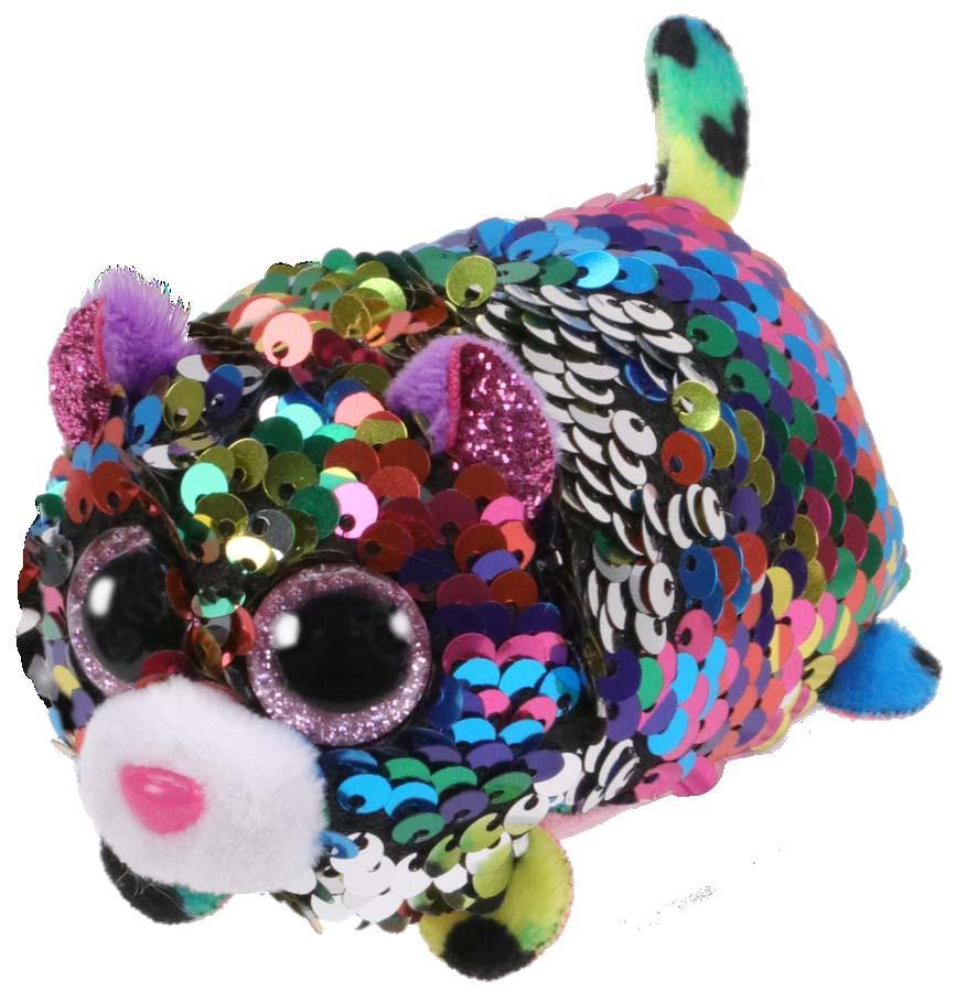 42401 TT FLIPPABLES DOTTY - разноцветный леопард в пайетках 10 см