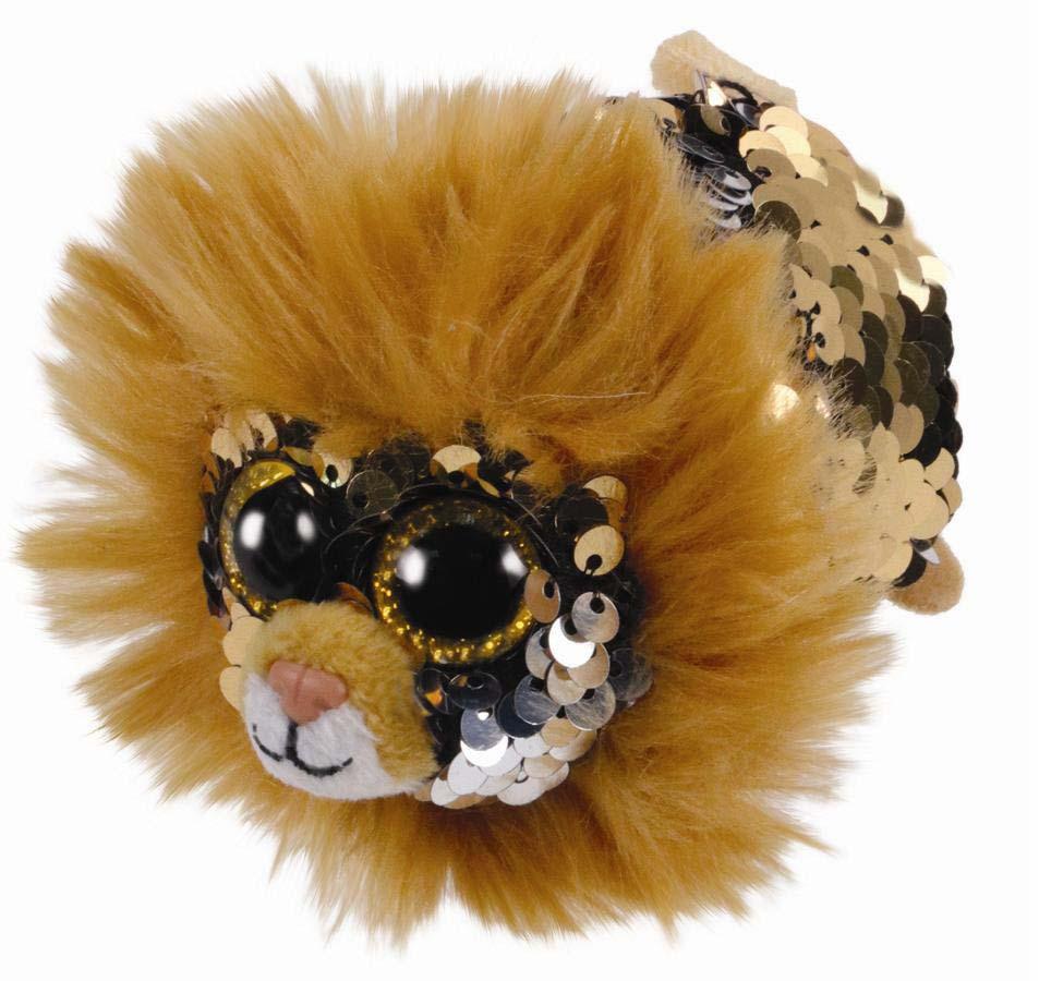 42409 TT FLIPPABLES REGAL - лев в пайетках 10 см