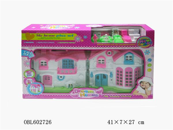Дом 1301 для кукол в коробке