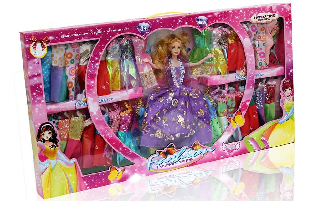 Кукла №6869-110 с набором платьев/коробка/68*37*6