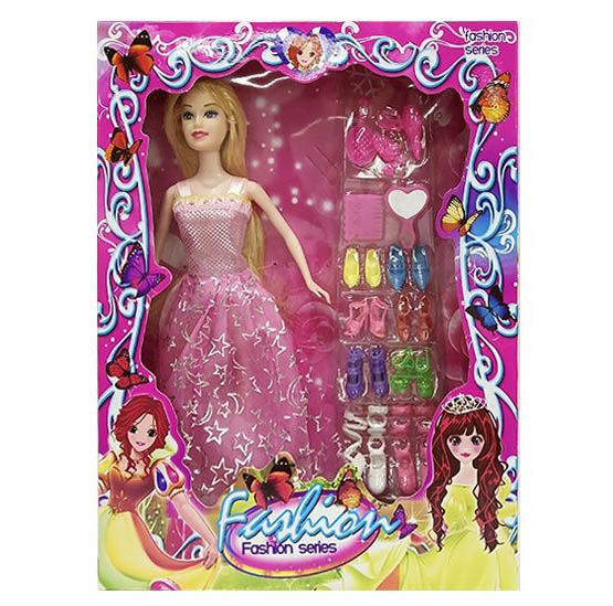 Кукла №6869-2ZS с аксессуарами/коробка/32*24*5