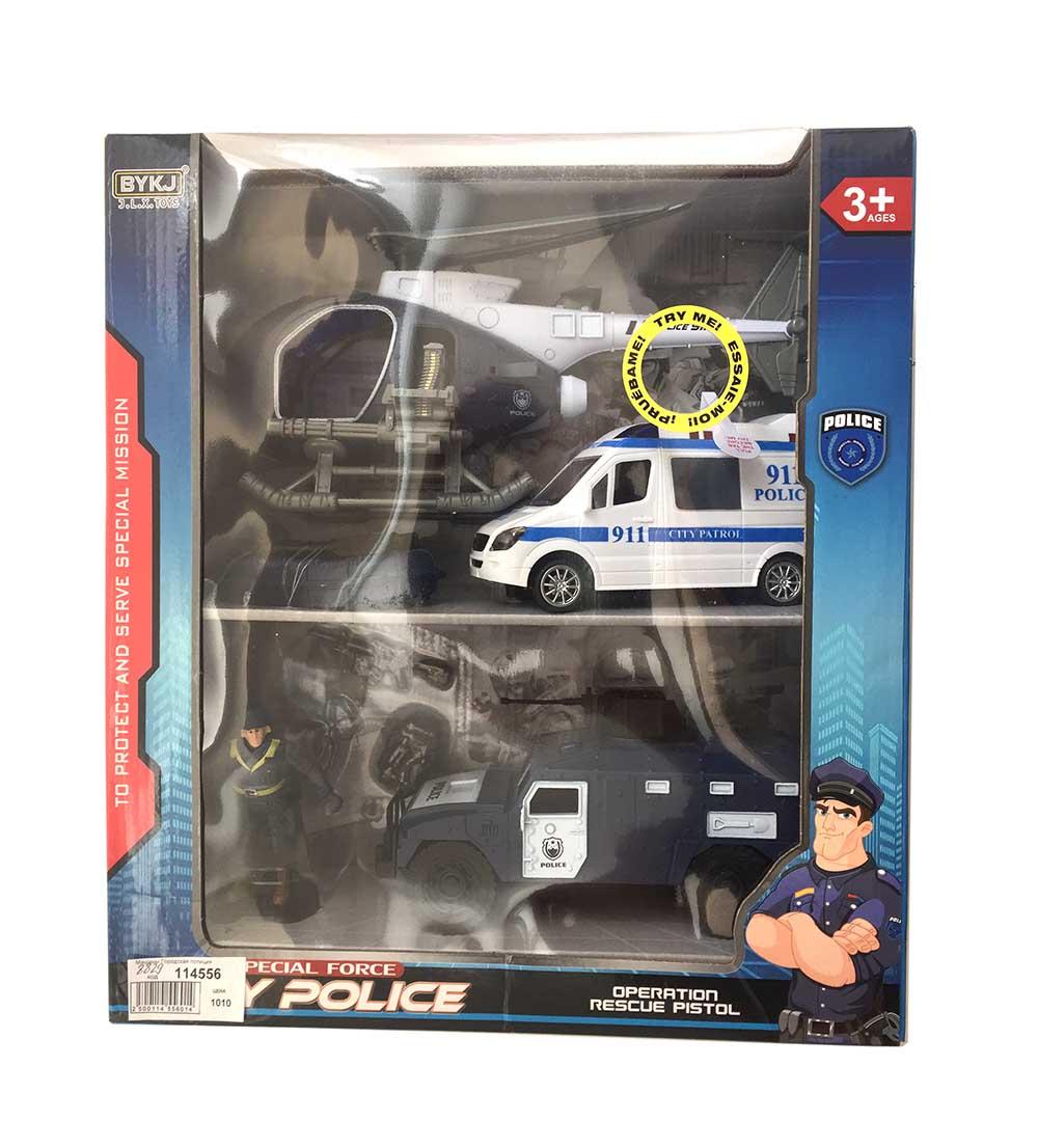 Машины Городская полиция набор 8829