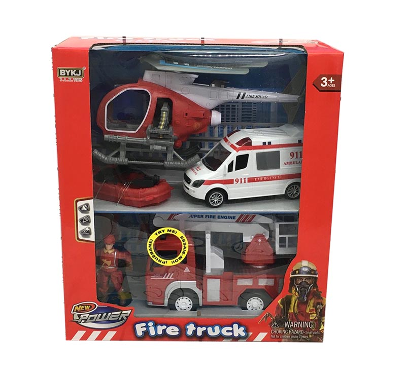 Пожарная техника набор 9931C