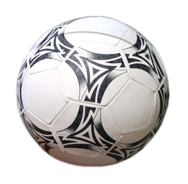 01089 Мяч футбольный ПВХ (200гр) (5 размер), цвет mix