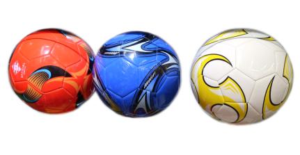 AN01091 Мяч футбольный ПВХ (280гр) (размер 5), цвет mix