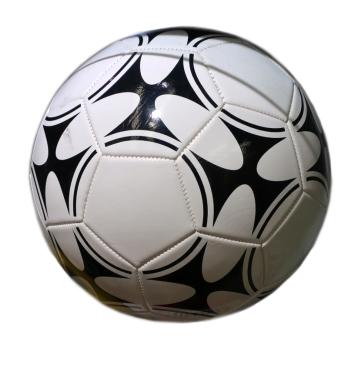 AN01092 Мяч футбольный ПВХ (280гр)(размер 5), 1 цвет