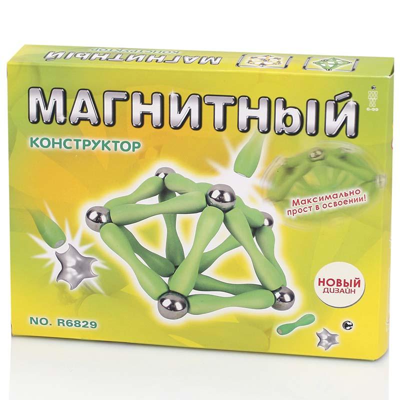 Конструктор №R6829В магнитный/60 дет/коробка(29x18x4)