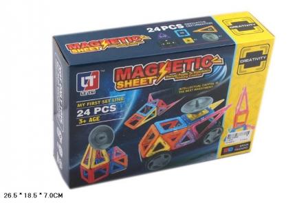 Z560-H26049 Конструктор магнитный. Магнитные формы