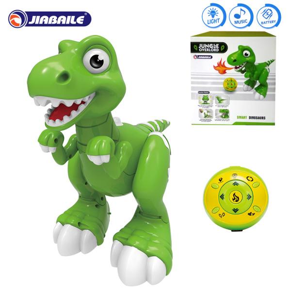 Динозавр 908A р/у, свет, звук в коробке 24*17,5*25,5