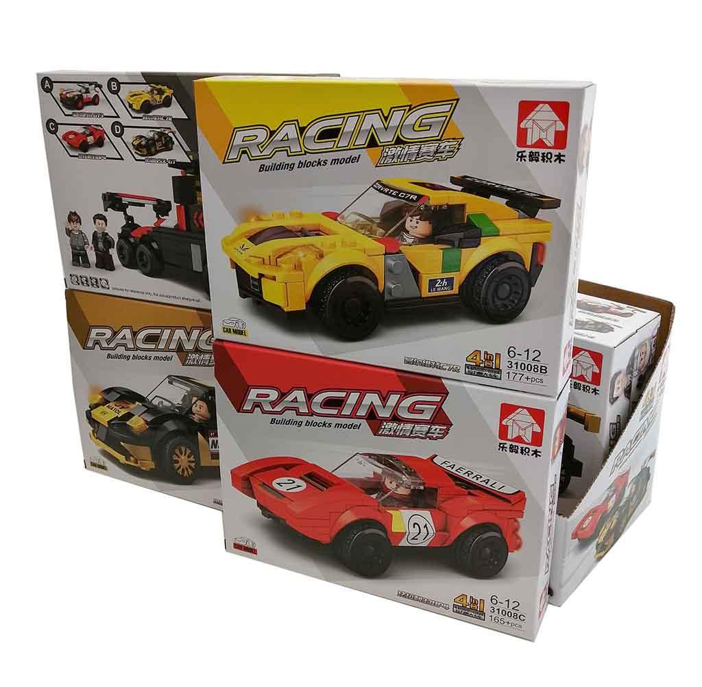 31008 Конструктор машинка гоночная