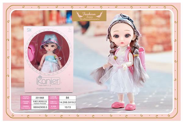 Кукла 201868 шарнирная в коробке 14,2*8,5*19,2