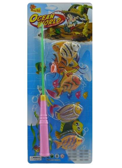 Игра рыбалка №1458 магнитная/блистер/35*2,5*15