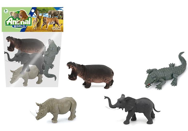 Набор диких животных №2A249/пакет/26*21*5