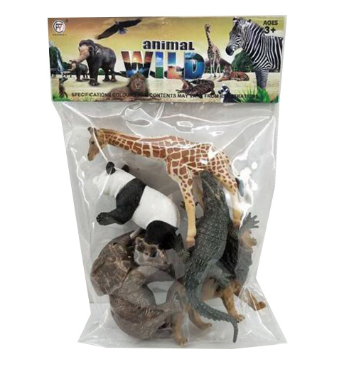 Набор диких животных №929-22А/пакет/32*19*3