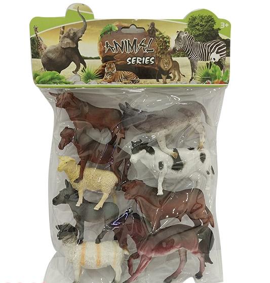 Набор животных №XD-668/пакет/38*25,5*4