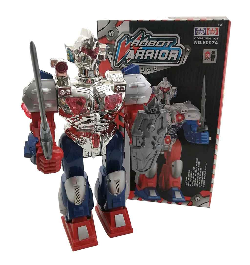 Робот (свет, звук) 6007A