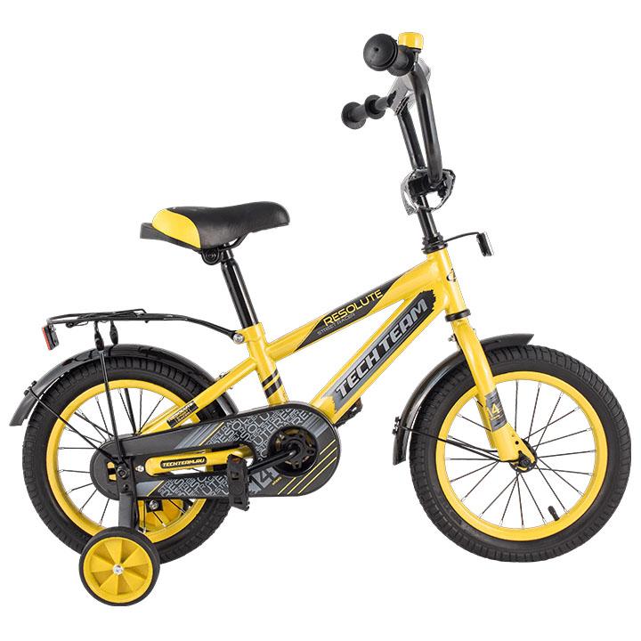 Велосипед Tech Team T 16134 желтый