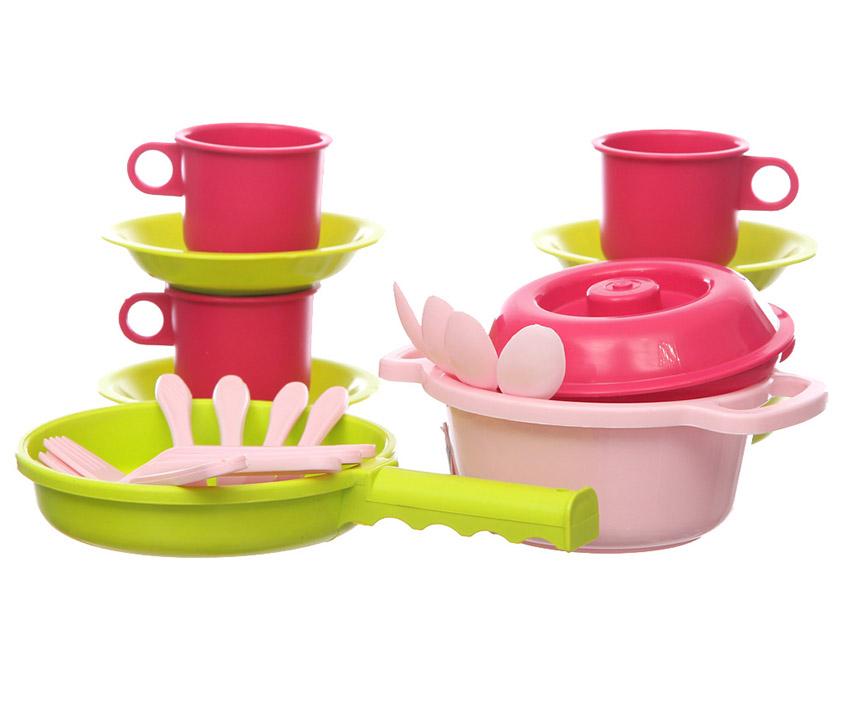 Набор детской посуды Настенька 9316