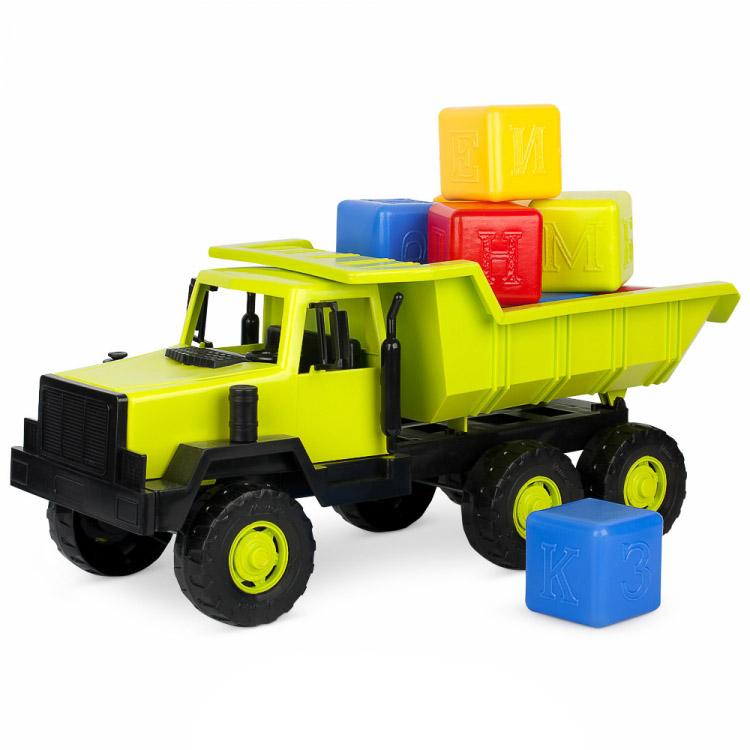 Самосвал Таежный с набором кубиков 9293