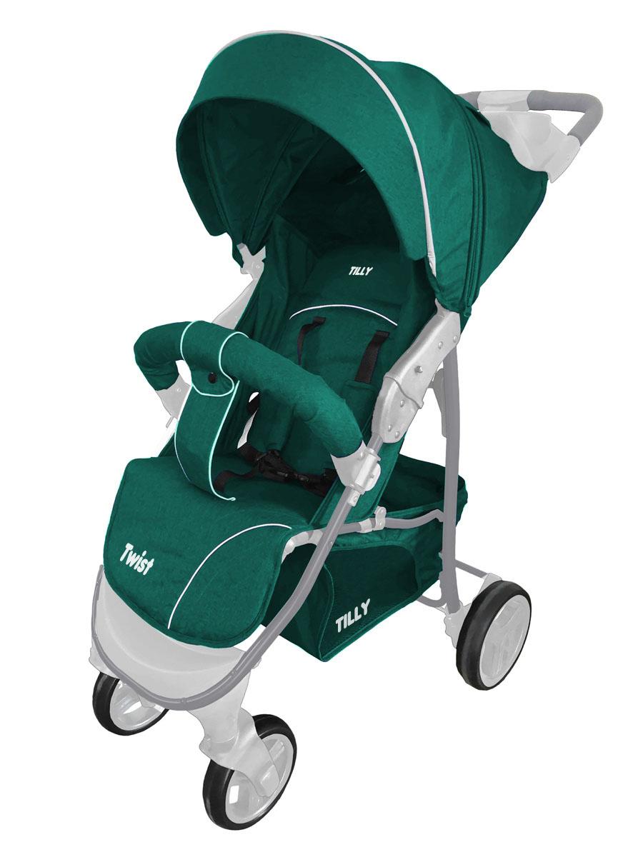 Коляска прогулочная BABY TILLY T  T-164 Twist Iguana Green
