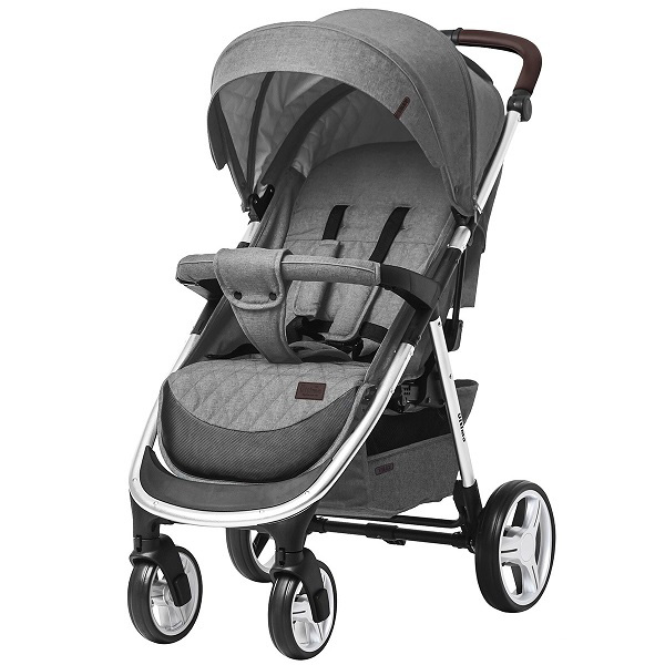 Коляска прогулочная BABY TILLY T  T-191 Ultimo Coin Grey