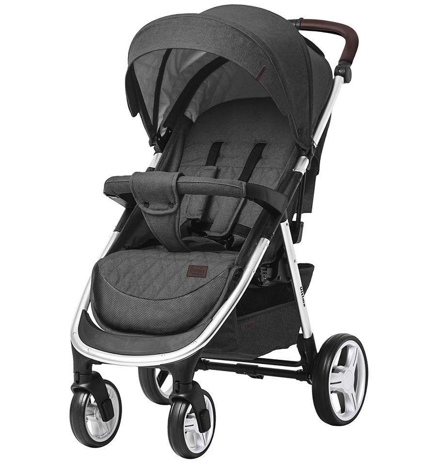 Коляска прогулочная BABY TILLY T  T-191 Ultimo Fossil Grey