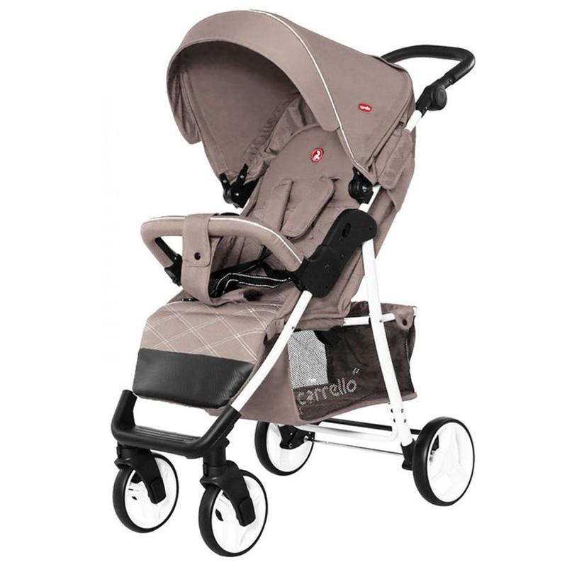 Детская коляска CARRELLO Quattro  CRL-8502/2 Silk Beige