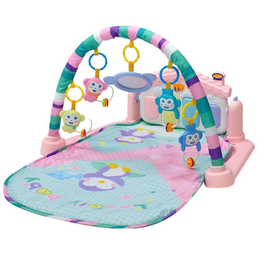 Развивающий коврик Everflo Beauty pink HS0368147(2)