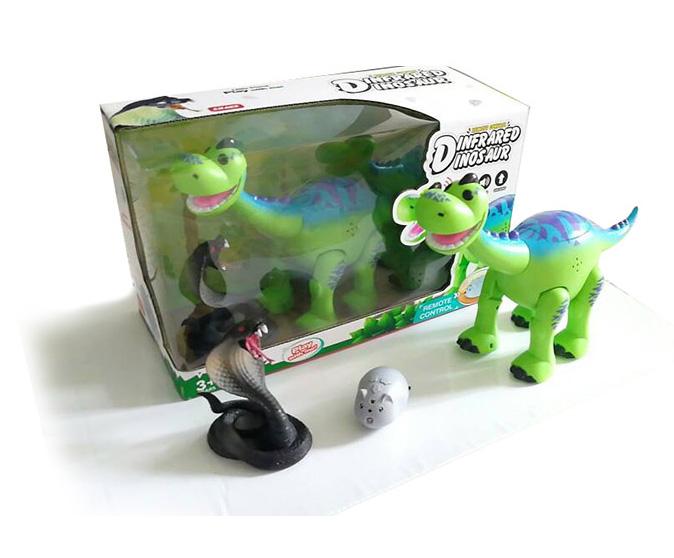 Динозавр на р/у+ змея TT6009A