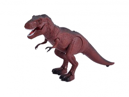 Игрушка на радиоуправлении. Робот-динозавр-1 (USB, свет, звук, пульт управл. 30 см) Арт. T236-D2606