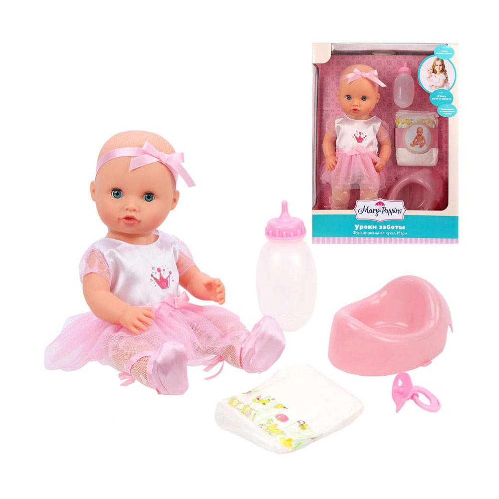 451275 Кукла функциональная Mary-балерина Уроки заботы 36см