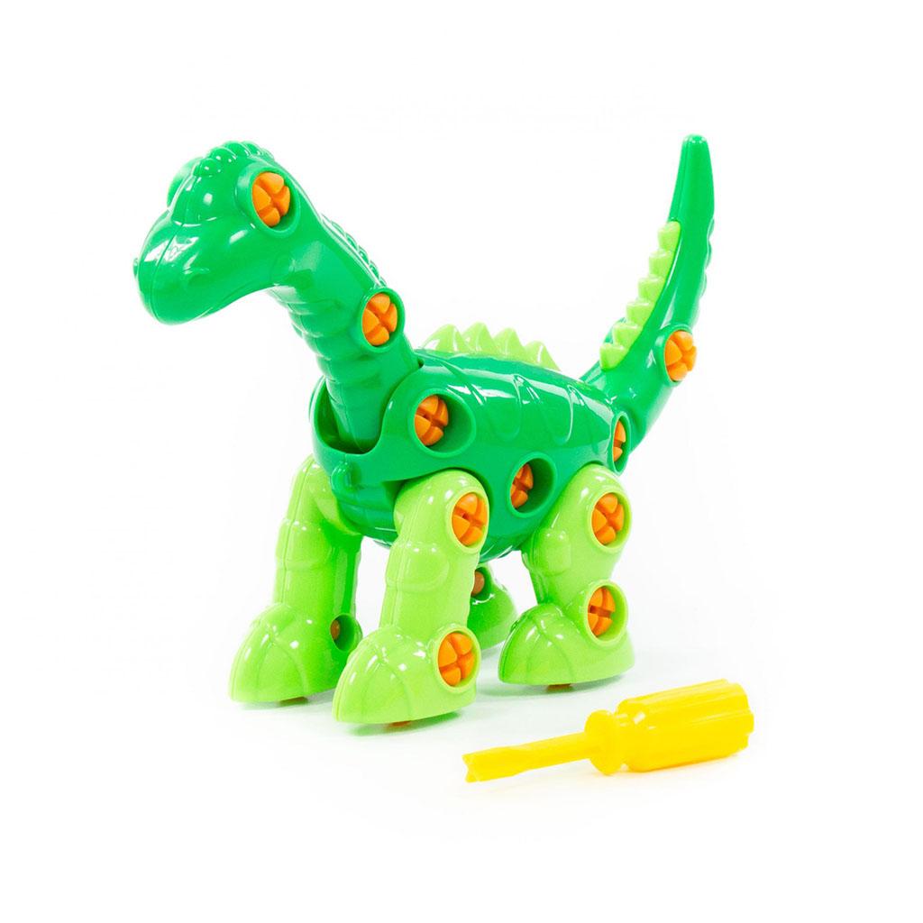 """Конструктор-динозавр """"Диплодок"""" (35 элементов) (в пакете) 76724"""