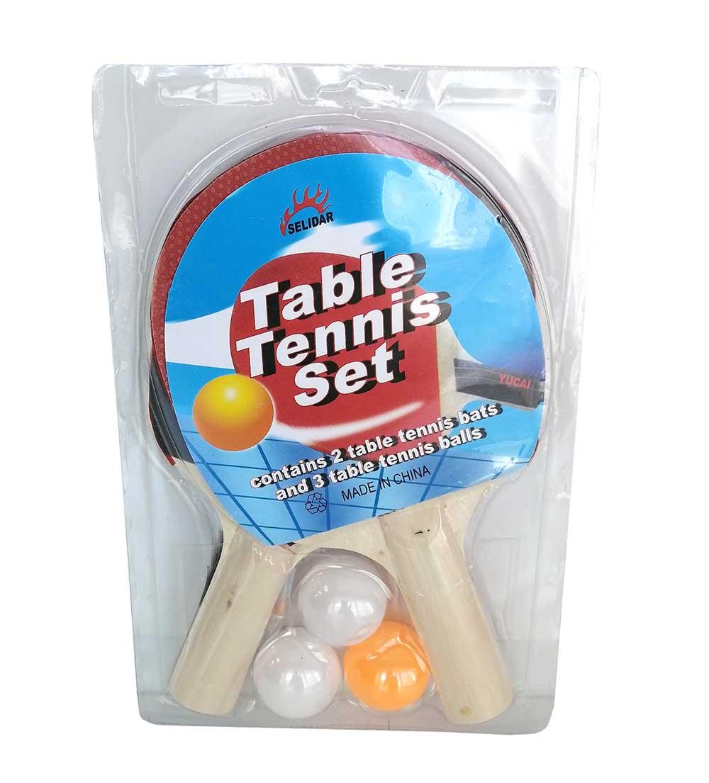 Набор для настольного тенниса №656/2 ракетки +3 шарика/44см /сетка