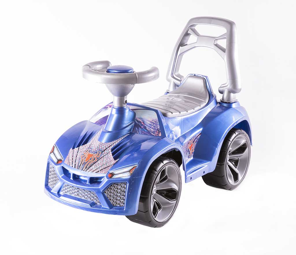 Игрушка Машина-каталка Ламбо, перламутр.синий 021_С
