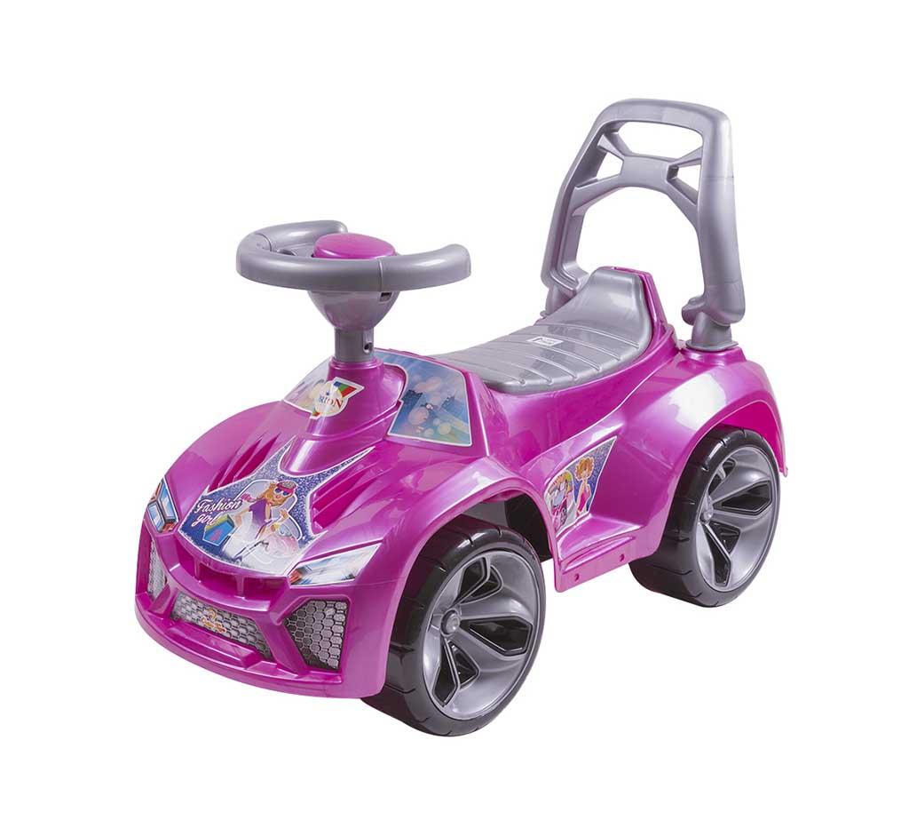 Игрушка Машина-каталка Ламбо, розовый 021_Р