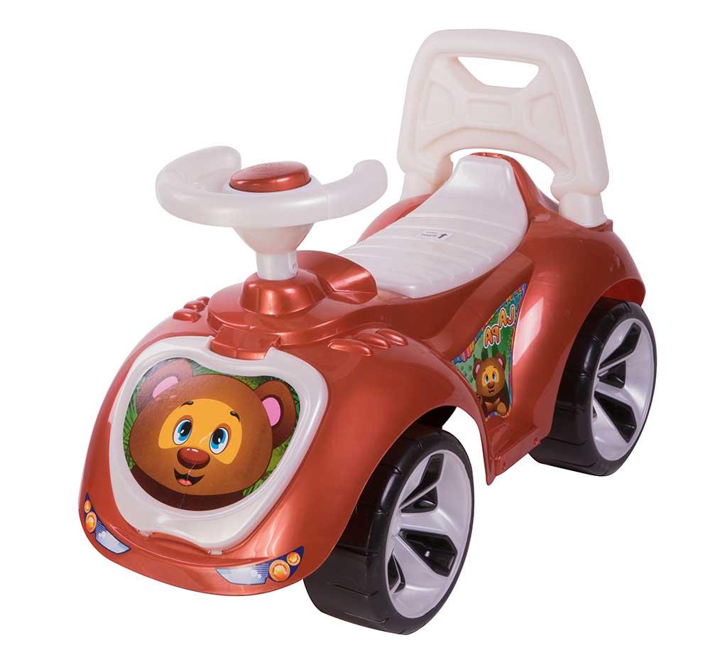 Игрушка Машина-каталка Лапка, коричневый 758_Кч