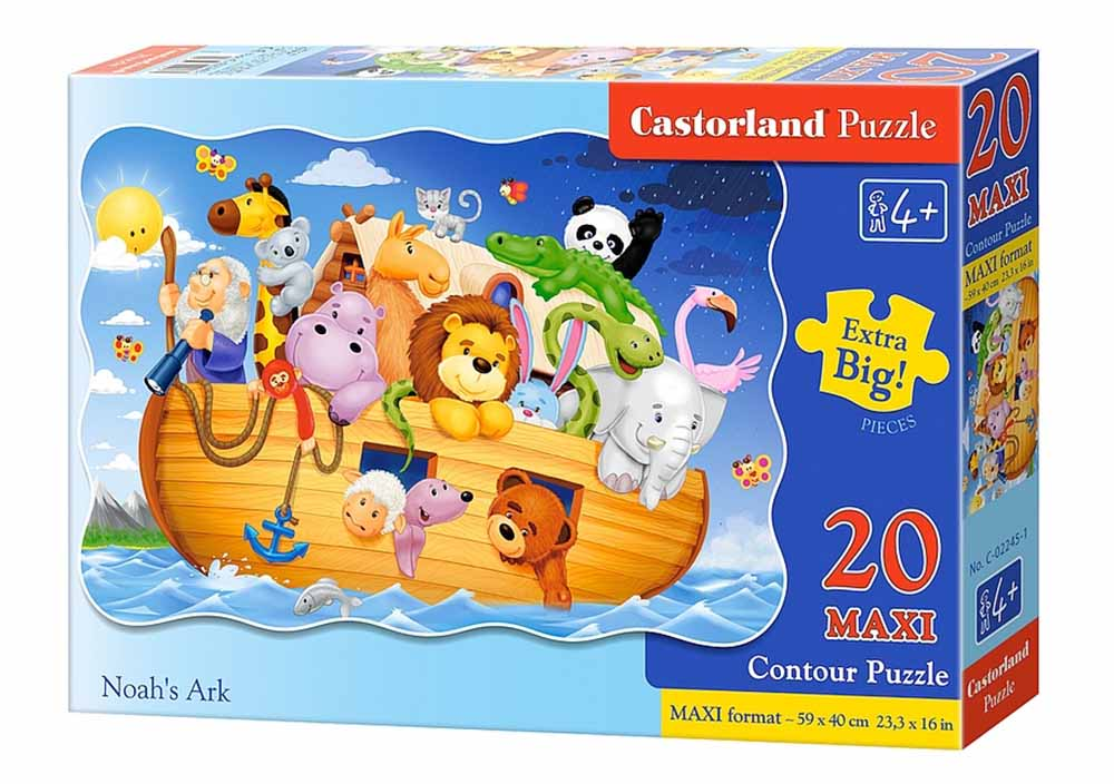 Пазл Касторленд 20 maxi 02245