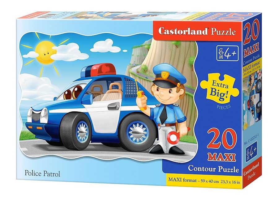 Пазл Касторленд 20 maxi 02252