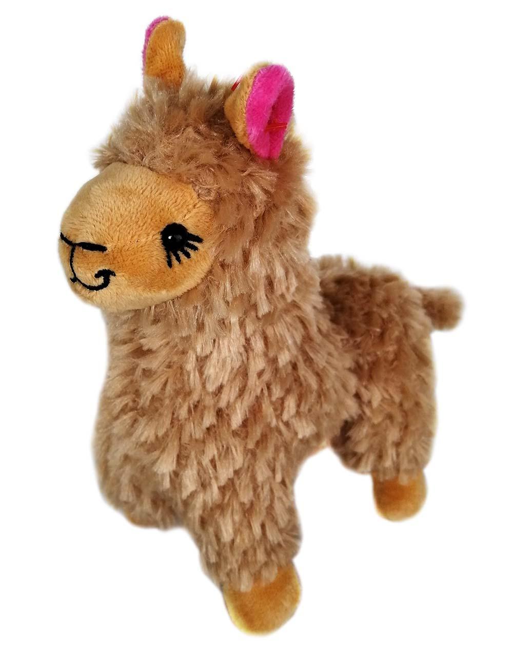 """Мягкая игрушка из плюша """"Лама"""", размер 17см,2 цвета микс,в пакете (Арт. MR32)"""