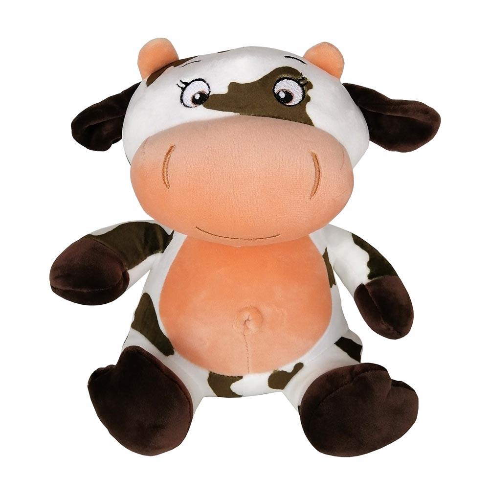 """Мягкая игрушка из плюша """"Корова 10"""", размер 26см,цвет микс (Арт. N20250)"""