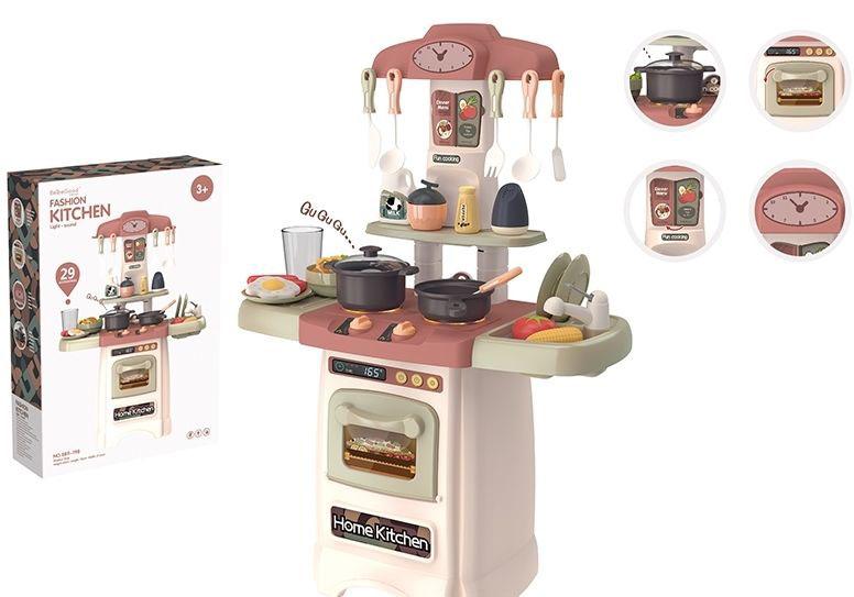 """Игровой модуль """"Кухня"""" №889-198/29 предметов/на батарейках/53,5*12,5*37,5"""