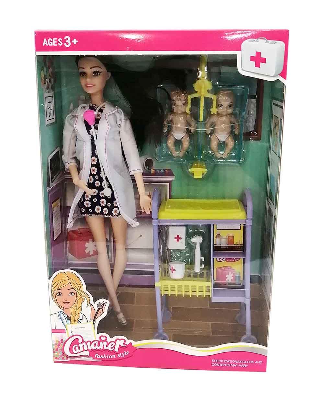 KQ109 Кукла доктор Camaner