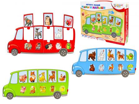 BRIGHT KIDS. Автобус знаний. МАМЫ И МАЛЫШИ Арт. (ИН-7638)