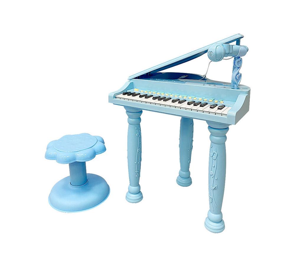 Музыкальный детский центр-пианино Everflo Grand HS0384710 blue