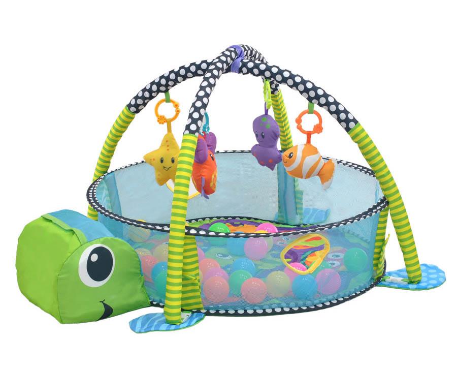 Развивающий коврик Everflo Turtle HS0337006