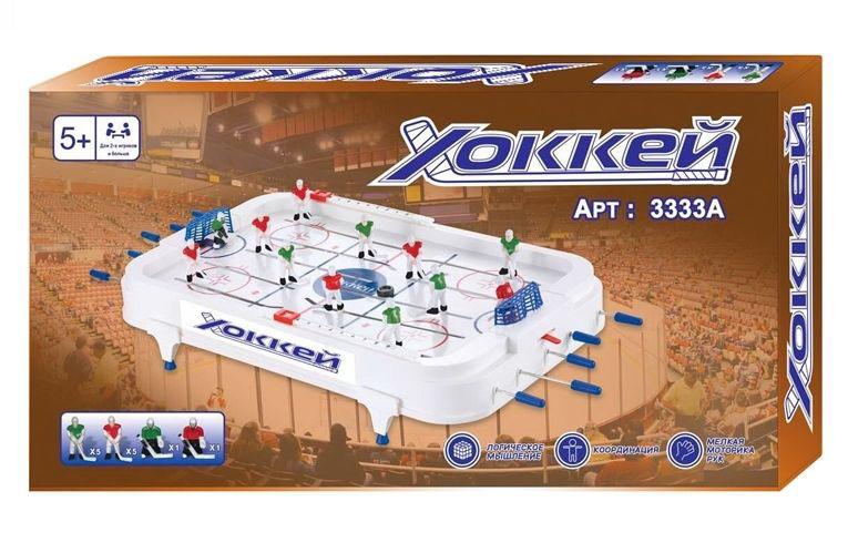 """Игрушка №3333А """"Хоккей""""/коробка/57,5*30,5*6,5"""