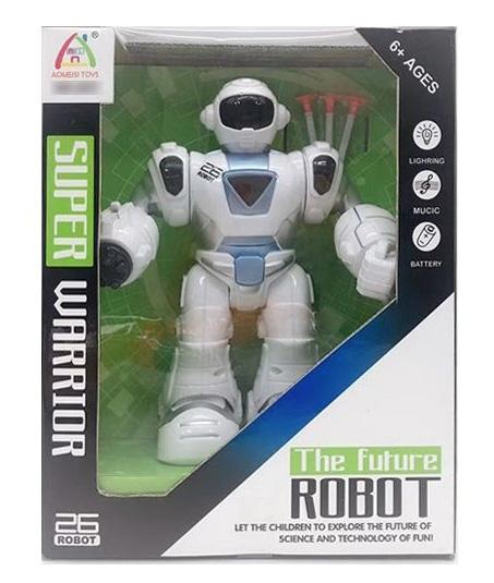 Робот №817 на батарейках/коробка/26*22*10