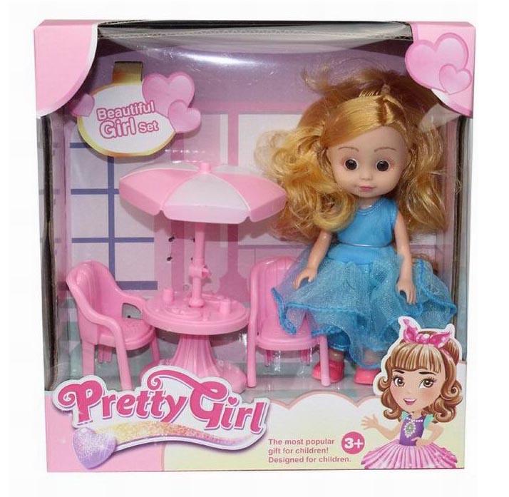 Кукла №658-4В с аксессуарами/коробка/22*8,5*21