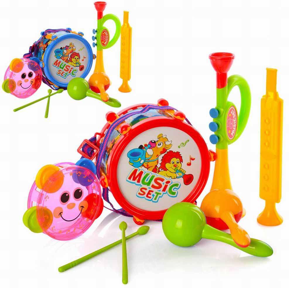 Набор музыкальных инструментов №2019А/пакет/32*25*8,5