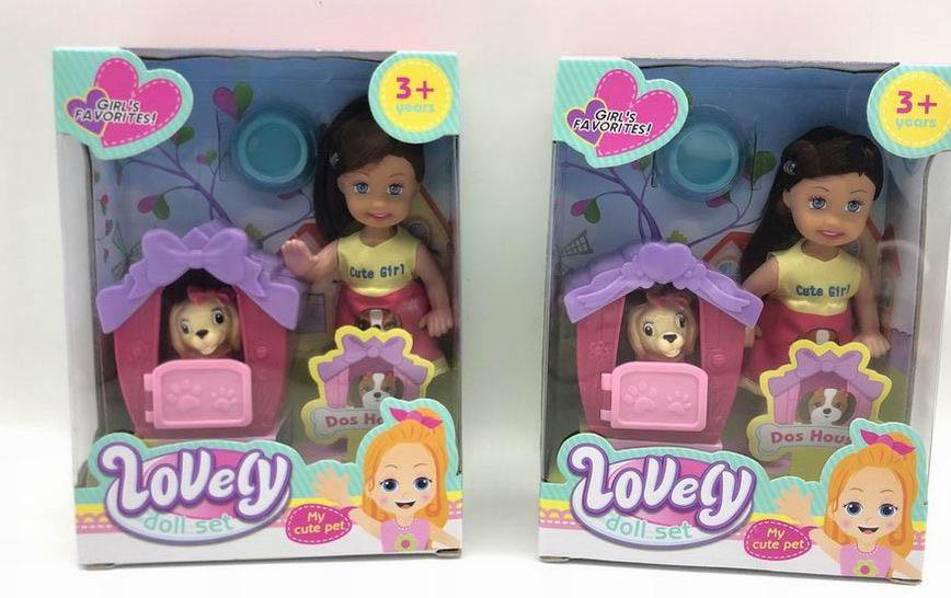 Куколка №86050-1 с аксессуарами/коробка/16*4,5*14